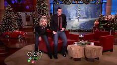 Retro! John Travolta and Olivia Newton-John perform 'You're The One That I Want' on the Ellen DeGeneres Show
