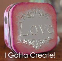 valentine in a box...cute b-day idea 2
