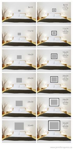 art sizes above bed Art Size for Above the Bed