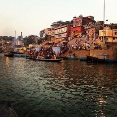 Ganga River in Benares, Uttar Pradesh