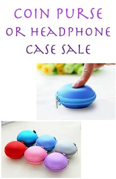 Coin Purse or Headphone Case Sale: $2.06 + FREE Shipping!
