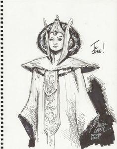 Olivier Coipel - Amidala Sketch
