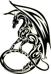 Tribal Dragon Png - ClipArt Best Tattoo 1