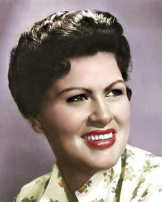 Patsy Cline (September 8, 1932 – March 5, 1963) - http://en.wikipedia.org/wiki/Patsy_Cline