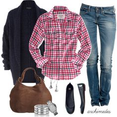 Casual Days, created by archimedes16 on Polyvore