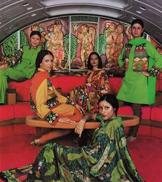 Air India flight attendants mid 1970s