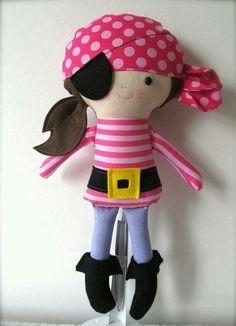 Boneca pirata