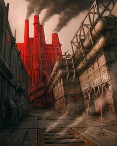 Old Factory by Waldemar Kazak (2008)