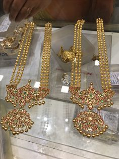 Long necklace *PREMRAJ SHANTILAL JAIN JEWELLERS*