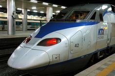 Korea train travel: find information on types of trains in South Korea, ticket prices, routes, stations and train culture. Travel Log, Air Travel, High Speed Rail, Train System, How To Speak Korean, Speed Training, Train Car, Ways To Travel, How To Level Ground