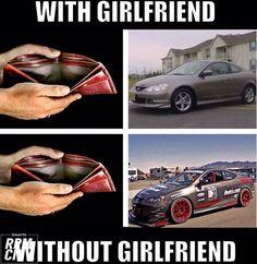 So true lol Honda civic Muscle car Truck Memes, Car Humor, Funny Car Quotes, Funny Memes, Funny Cars, Hilarious, Honda Civic, Muscle Cars, Mechanic Humor