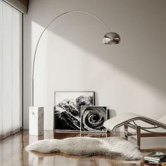 The Arco lamp is arguably the most recognized floor lamp of midcentury was designed by Achille Castiglioni   #arcolamp #lamp #midcentury #furniture