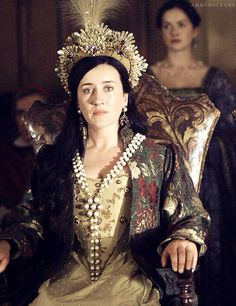 From The Tudors on Showtime: KATHERINE OF ARAGON