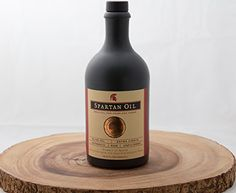 Spartan Oil Premium Extra Virgin Olive Oil Stoneware Bottle, 500ml * Hurry! Check out this great sales