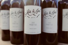 wine wedding labels | Traci Griffin Photography