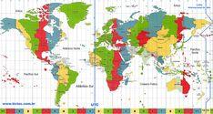 TICTOC - Fuso Horário Mundial - Mapa de fusos e zonas de tempo internacionais