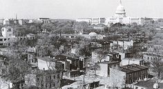 Southwest Washington, D.C., looking toward the Capitol, 1939