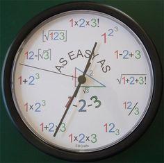 Amazing Mathematical Clock - Facts Pod