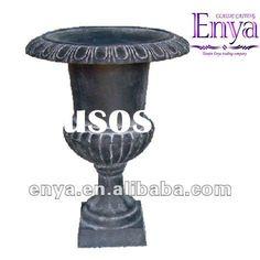 Cast Iron Planter, Classic Flower pot, Garden Urn / Vase for sale - Price,China Manufacturer,Supplier 410601 Garden Urns, Vases For Sale, Urn Vase, Flower Pots, Flowers, Cast Iron, Planters, China, Classic