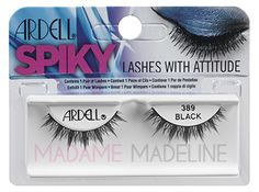 Ardell SPIKY Lashes 389  #ardellcollection #ardell #falseeyelashes  Available MadameMadeline.com