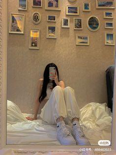 Korean Girl Fashion, Ulzzang Fashion, Kpop Fashion Outfits, Dope Fashion, Korean Outfits, Cute Casual Outfits, Casual Dresses For Women, Korean Best Friends, Pinterest Girls