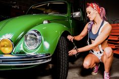 Hottest grease monkey ever! choose your style on www.beelieveactivewear.com