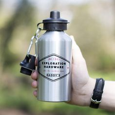 Gadget idea: water bottle with 77 graphic