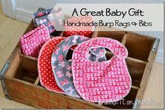 Burp Rags and Bibs free pattern