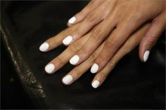 2014 nail trends: white and off-white nails