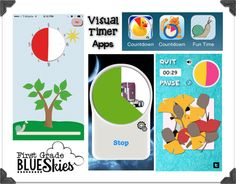 Using Visual Timers is a Bright Idea! - First Grade Blue Skies