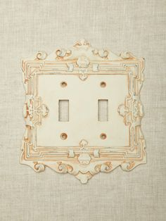 French Baroque Looking Switch Plate Cover
