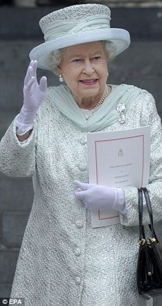 Queen Elizabeth II ... Diamond Jubilee, June 5, 2012