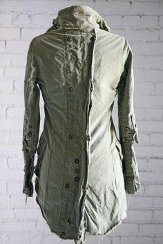 d07e3662358 Greg Lauren - SPRING WOMEN 2013 Military Clothing