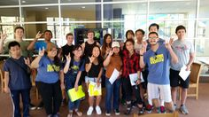Some Summer Scholars with their mentors ZOTing it out!