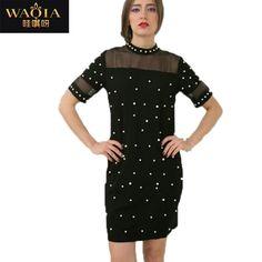 eb1c1cff354 Купить товар Платье вышивка бисером свободного покроя лето