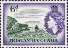 Tristan Da Cunha 1954 SG 19 Island longboat Fine Mint Scott Other Tristan da Cunha Stamps HERE