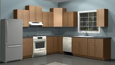 Design Kitchen Wall Units
