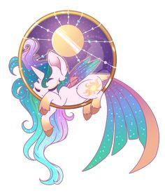 Dream Ring - Princess Celestia by FuyusFox on DeviantArt My Little Pony Princess, Mlp My Little Pony, My Little Pony Friendship, Dessin My Little Pony, My Little Pony Drawing, Princesa Celestia, Celestia And Luna, Kawaii Drawings, Cute Drawings