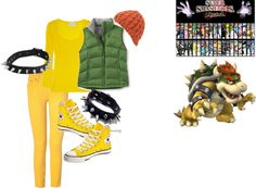 """SSBB Bowser"" by sonicgirl753 on Polyvore"