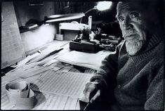 Conlon Nancarrow, composer.