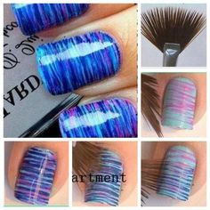 This looks super amazing! Had a similar makeup brush from a makeup kit, never used it, now I have a use for it - I like!