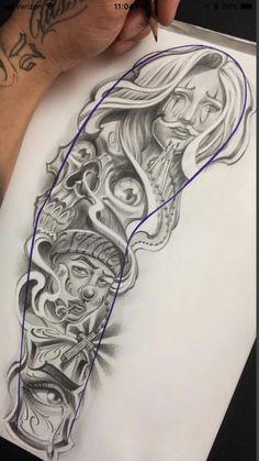 Chicano Art Tattoos, Gangsta Tattoos, Dope Tattoos, Badass Tattoos, Body Art Tattoos, Hand Tattoos, Face Tattoos For Men, Neck Tattoo For Guys, Tattoos For Guys