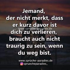 Jemand der nicht merkt – Sprüche Paradies - #der #Jemand #kurze #merkt #nicht #Paradies #Sprüche