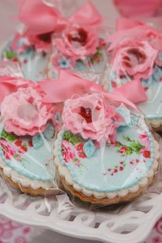 These are the prettiest cookies I have ever seen !