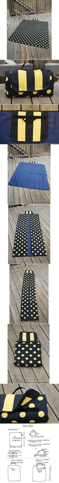 DIY Picnic Mat DIY Picnic Mat by diyforever