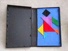 i pasticci di dani: tangram da viaggio - tutorial