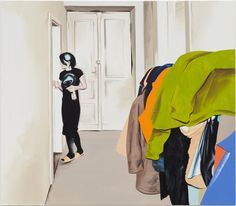 Marcin Maciejowski. Clothes, 2009. Oil on canvas, 140 x 160 cm.