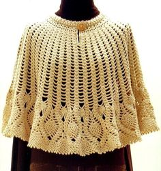 I think this is lovely, retro to way back from crochet-shawls.blogspot.co.uk
