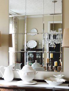 DIY Brinkley Beveled Mirror copycat