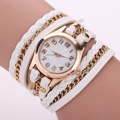 Cheap watch pulse, Buy Quality watch girl directly from China watch sim Suppliers:            Leather Strap Quartz Watches Gold Fashion Leather Bracelet Women Dress Watches Reloj Mujer 2015 H